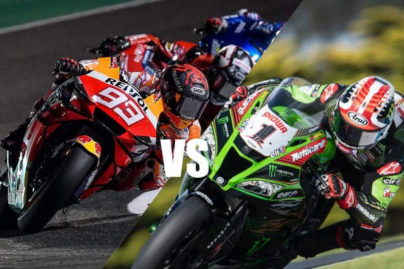 """ชมให้ชัด MotoGP vs WorldSBK เวลาต่อรอบ """"มาร์เกซ"""" กับ """"เรีย"""""""
