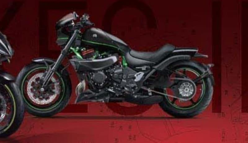 Kawasaki Vulcan H2 Young machine rendering