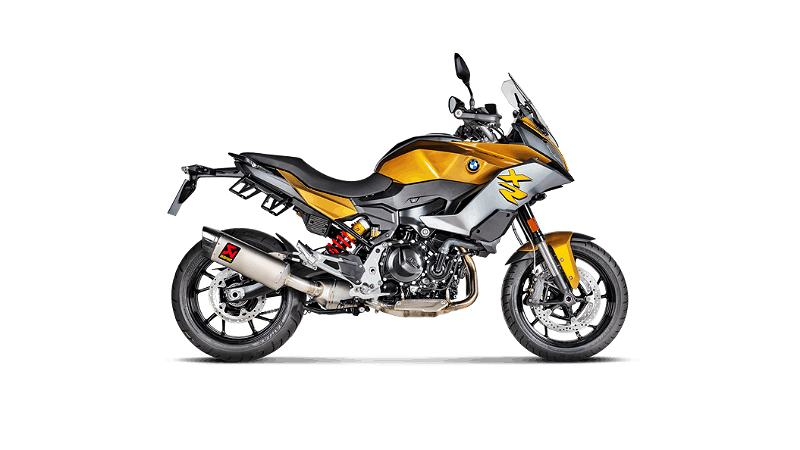 BMW F900XR Akrapovic slip on titanium