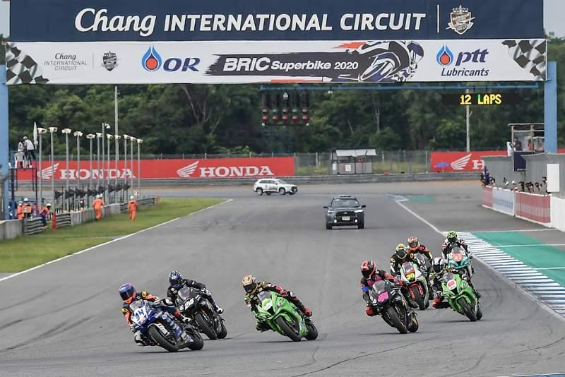 ตารางแข่ง OR BRIC Superbike สนามที่ 4