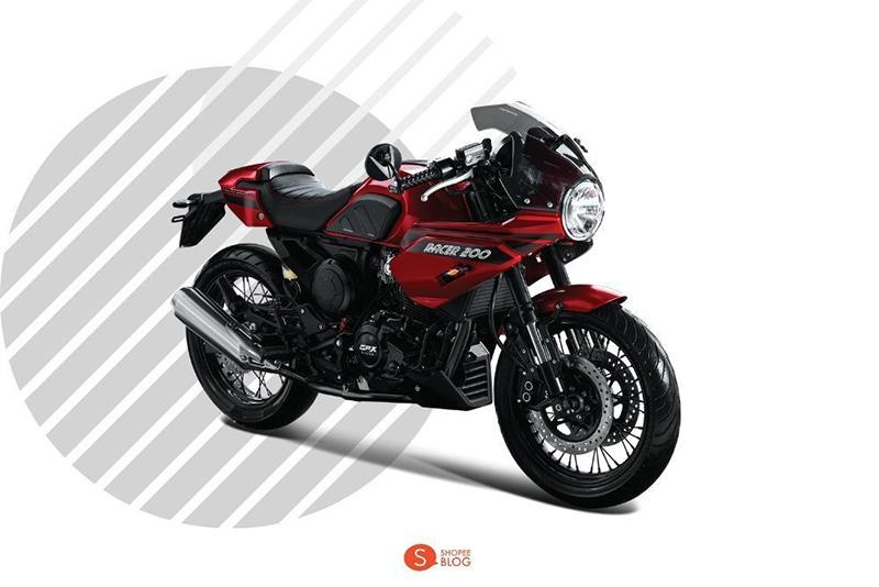 Motorcycle Classic GPX-Legend-Gentleman-Racer-200