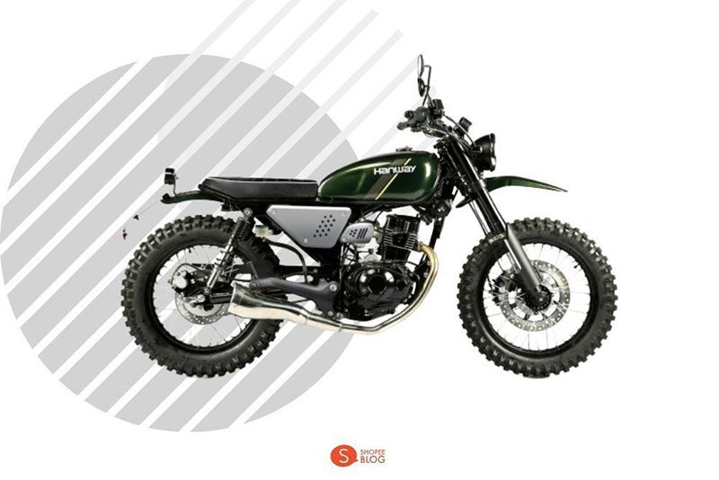 Motorcycle Classic Hanway 250 Scrambler