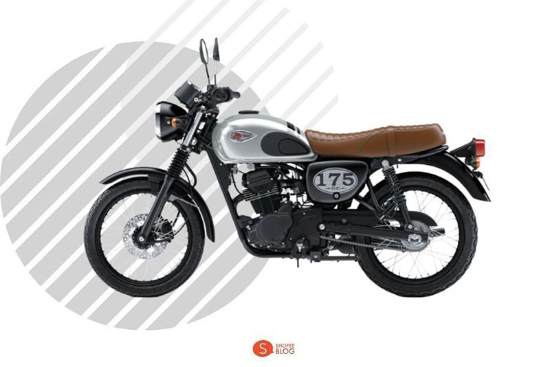 Motorcycle Classic Kawasaki W175 SE