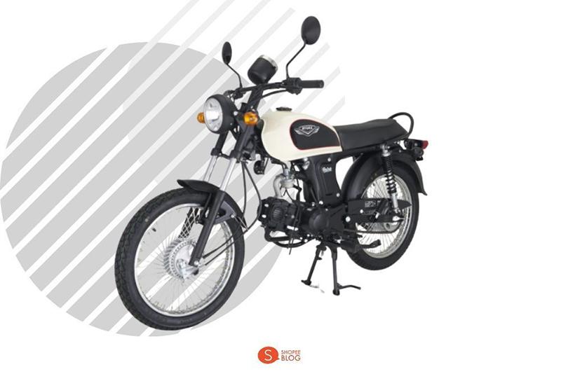 Motorcycle Classic Ryuka RK100