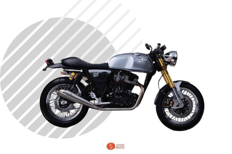 Motorcycle Classic Stallion Centaur Makina 250 SP