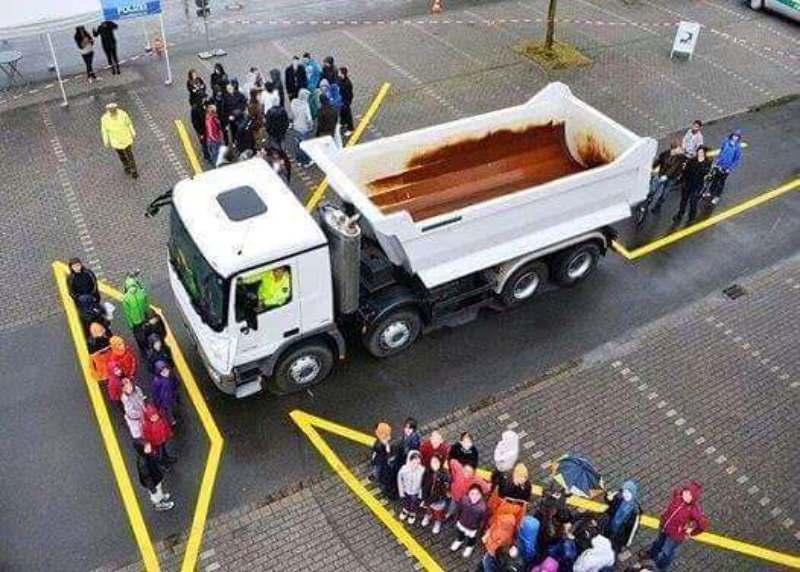 ไบค์เกอร์ต้องระวัง!! รวม 4 จุดบอดของรถบรรทุกที่ไม่ควรเข้าใกล้-6
