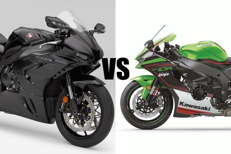 Honda CBR1000RR-R VS Kawasaki ZX-10R-1