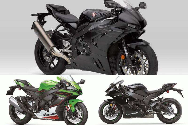 Honda CBR1000RR-R VS Kawasaki ZX-10R-2