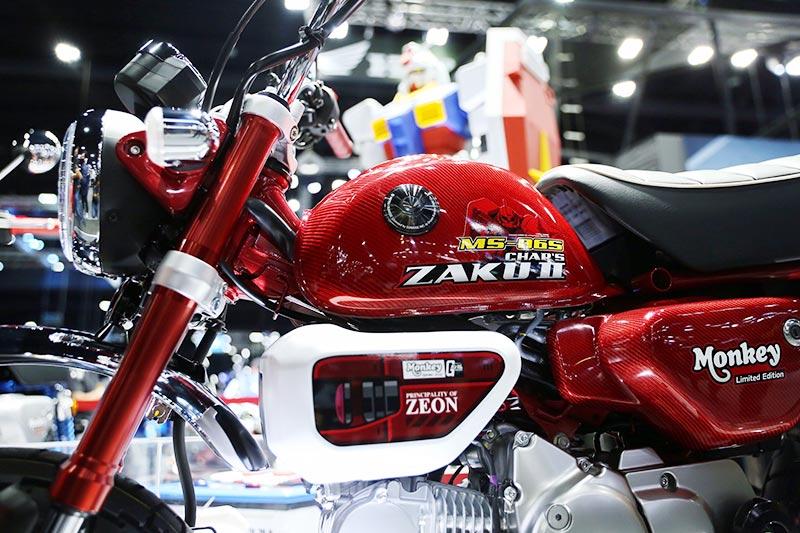 Honda Monkey Gundam 1 Motor Expo 2020