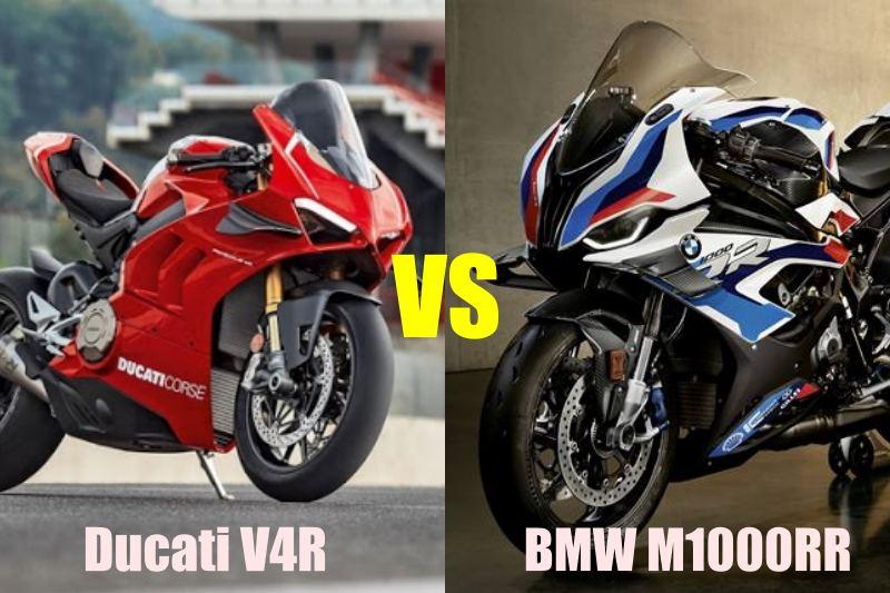 ducati v4r vs bmw m1000rr