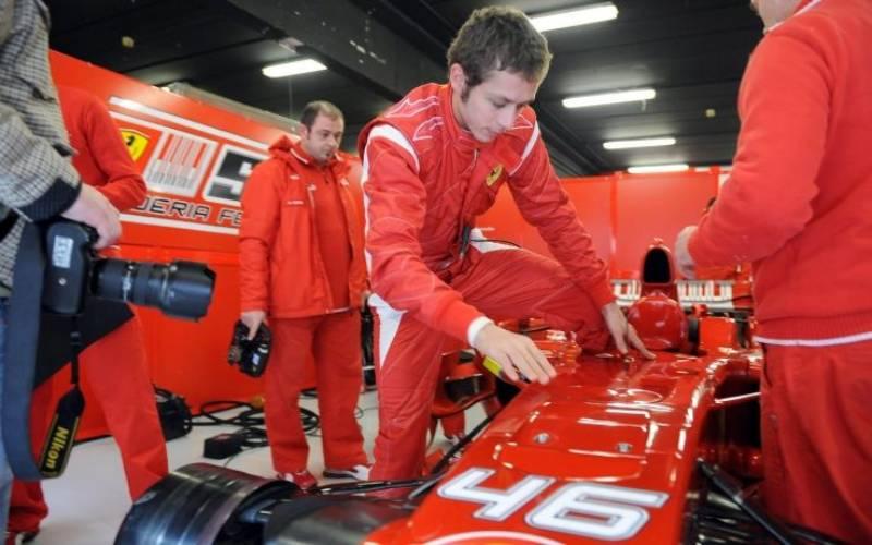 _Rossi F1 Ferrari-2