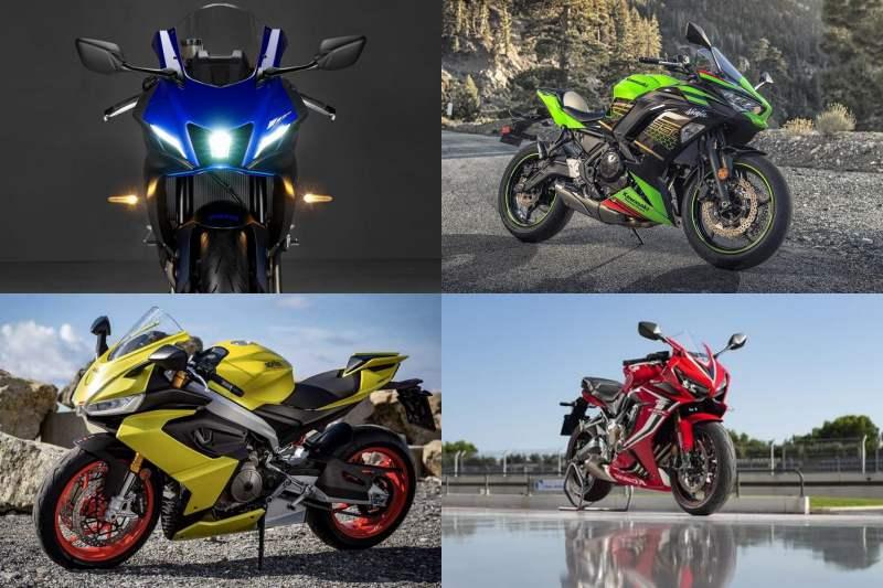 เปรียบเทียบสเปค Yamaha R7 VS Kawasaki Ninja 650 VS Aprilia RS660 VS Honda CBR650R-2
