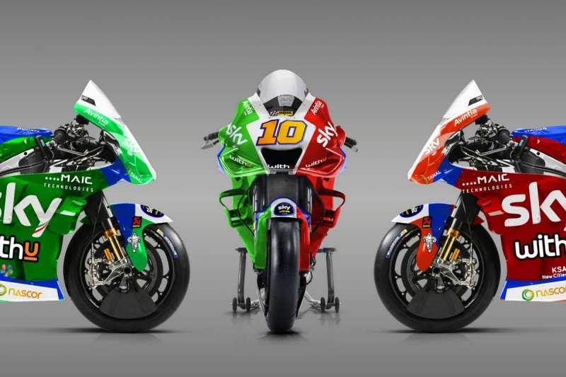 MotoGP Luca Marini Bike