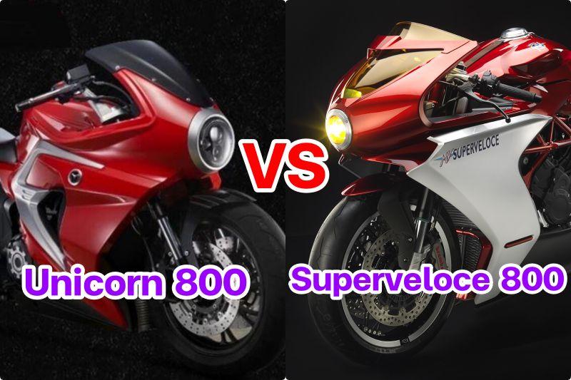 Motrac unicorn 800 vs superveloce 800