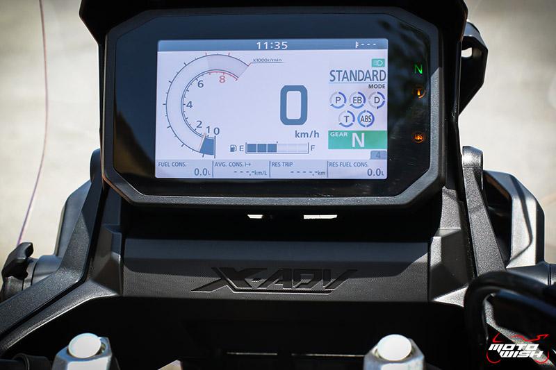 Review-Honda-All-New-XADV750-2021-Dashboard Screen