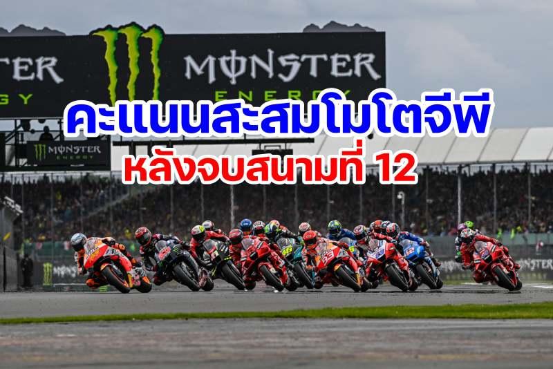 motogp 2021 world standing after round 12-1